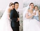 Giang Hồng Ngọc rạng rỡ chụp ảnh cưới cùng chồng và con trai