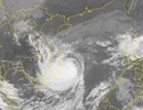 Đêm nay bão số 6 vào bờ biển các tỉnh Bình Định - Khánh Hòa