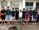 Bắt 20 thanh thiếu niên hỗn chiến do tranh giành địa bàn làm ăn
