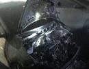 Ô tô bất ngờ bốc cháy tại hầm chung cư, người dân hốt hoảng tháo chạy