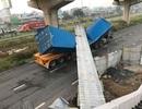 """""""Lộ"""" nhiều tình tiết bất ngờ sau vụ container làm sập cầu vượt bộ hành"""
