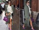 Victoria Beckham diện váy xẻ thanh lịch