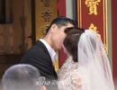 """Lâm Chí Linh diện váy cưới triệu đô, """"khóa môi"""" ông xã trong hôn lễ được chờ đợi"""