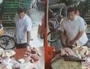 Khó tin: Người dân Trung Quốc ăn cắp cả thịt lợn khi đi chợ