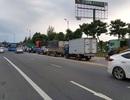 Giao thông ùn tắc hơn 5 km vì tai nạn chết người trên cầu Rạch Miễu