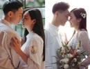 """Chuyện tình yêu 10 năm của cô giáo """"kiêm"""" top 5 Hoa hậu Hoàn vũ"""