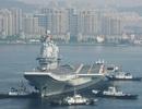 Trung Quốc điều nhóm tác chiến tàu sân bay đi qua eo biển Đài Loan