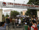Hàng trăm thương binh xếp hàng mua vé trận Việt Nam gặp Thái Lan