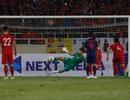 Văn Lâm từ chối bàn thắng của Thái Lan trên chấm phạt đền