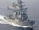 Trung Quốc điều tàu theo dõi tàu chiến Mỹ đi qua Biển Đông