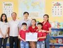 Đại sứ Văn hóa Đọc tặng sách và thư viện cho trường học tại An Giang