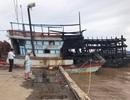 Cháy 3 tàu cá, gần 12 tỷ đồng ra tro