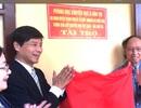 Tổng Biên tập báo Dân trí cùng Tổ chức Shinnyo - en Nhật Bản tặng 3 phòng học cho thầy trò xã miền núi