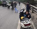 Hà Nội: Truy tìm tài xế xe bán tải nghi gây tai nạn cho 2 mẹ con rồi bỏ chạy