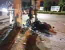 Thiếu niên lao xe vào cột đèn tử vong, nghi do bị CSGT truy đuổi