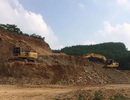 Khai thác khoáng sản quá độ sâu được phép, doanh nghiệp bị phạt 185 triệu đồng