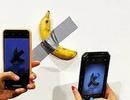 Tranh cãi tác phẩm nghệ thuật quả chuối dán băng dính giá 120.000 USD