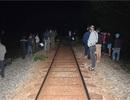 Ngồi trên đường ray, nam thanh niên bị tàu hỏa tông tử vong