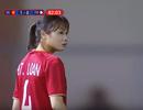 """Trò chuyện """"chớp nhoáng"""" với hot girl đội tuyển bóng đá nữ Việt Nam"""