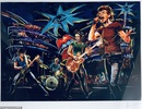 Sửng sốt trước tài năng hội họa của rocker nhóm Rolling Stones