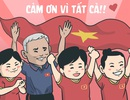 Những hình ảnh đầy ý nghĩa được dân mạng chia sẻ với đội bóng đá nữ Việt Nam
