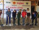 Báo Dân trí khởi công xây dựng trường Mầm non sát biên giới Việt - Lào