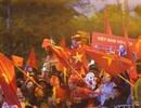 Hà Nội: Hàng ngàn cổ động viên cuồng nhiệt chờ đội tuyển U22 vô địch trở về nước