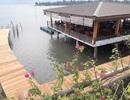 Doanh nghiệp ngang nhiên đóng cọc bê tông xâm hại đầm Lập An tại Huế!