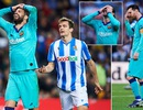 Hòa thất vọng Sociedad, Barcelona có nguy cơ mất ngôi đầu bảng