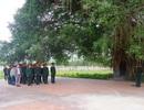Dâng hương tưởng nhớ Đại tướng Võ Nguyên Giáp dịp 75 năm thành lập quân đội