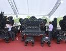 """Đại gia Thanh Hóa """"vác"""" bộ siêu bàn ghế 27 tỷ đồng đi triển lãm"""