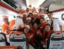 Món quà giáng sinh bất ngờ trên chuyến bay của hãng hàng không Jetstar