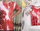 """""""Sốt xình xịch"""" với mẫu áo in hình thịt lợn: Nhiều bạn trẻ lật tung các cửa hàng tìm mua"""
