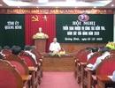 Quảng Bình kỷ luật 4 tổ chức Đảng và 362 đảng viên trong năm 2019