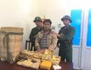 Bắt đối tượng người Lào gùi 10kg ma túy đá và 20.000 viên ma túy qua biên giới