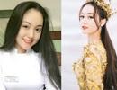 """2 nữ sinh Việt như """"bản sao Địch Lệ Nhiệt Ba"""" cực xinh với áo dài, đồng phục"""
