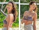 Alessandra Ambrosio tung tăng đón năm mới trên biển