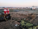 """Rộ video máy bay chở 170 người rơi như """"cầu lửa"""" tại Iran"""