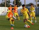 U23 Việt Nam hăng say luyện chiêu tủ chờ quyết đấu U23 UAE