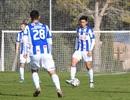 Văn Hậu đá trọn vẹn hiệp 2 trận giao hữu Heerenveen thắng Heracles