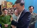Bộ trưởng Tô Lâm đến thăm gia đình 3 chiến sỹ hy sinh trong vụ việc tại Đồng Tâm