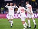 C.Ronaldo lập công, Juventus vô địch lượt đi Serie A