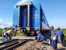 Tàu trật đường ray, đường sắt Bắc - Nam tê liệt