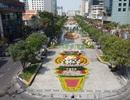 Mãn nhãn ngắm đường hoa Nguyễn Huệ trước giờ G