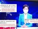 """Phát thanh viên Trung Quốc gây """"bão""""mạng vì đeo khẩu trang dẫn chương trình"""