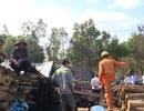 Cháy xưởng gỗ giữa đêm mùng 4 Tết