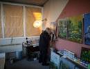 Tiếp tục vẽ những bức tranh đẹp ngay cả khi đã mù