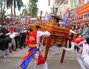"""Biển người đổ về Phú Đô xem """"kiệu bay"""" ngày hội"""