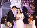 Đám cưới Duy Mạnh - Quỳnh Anh: Cặp đôi trao nhẫn, chính thức là vợ chồng