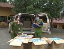Bắt giữ gần 13 nghìn chiếc khẩu trang chuẩn bị tuồn sang Trung Quốc